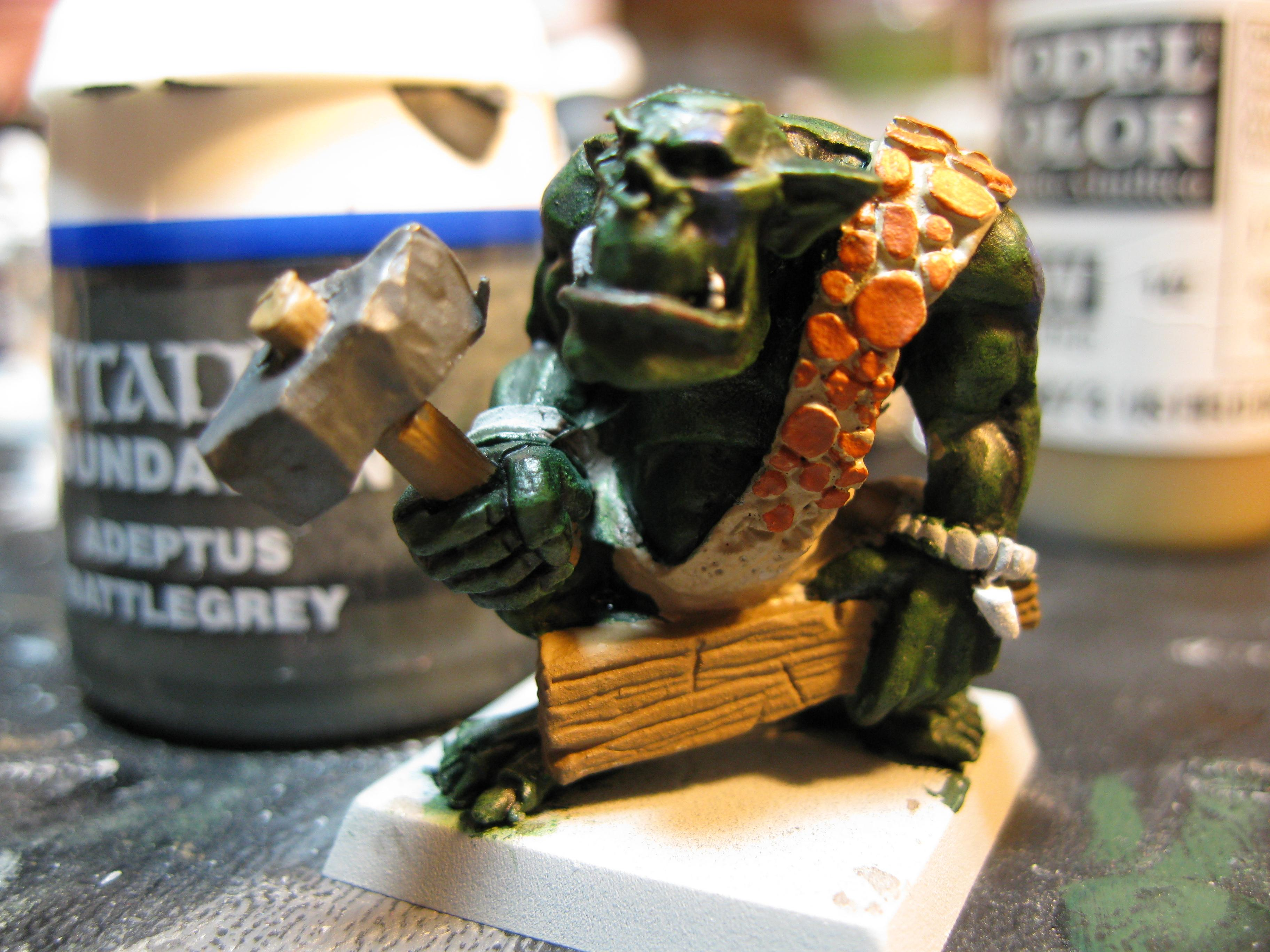 How To Paint a Savage Orc Part 12