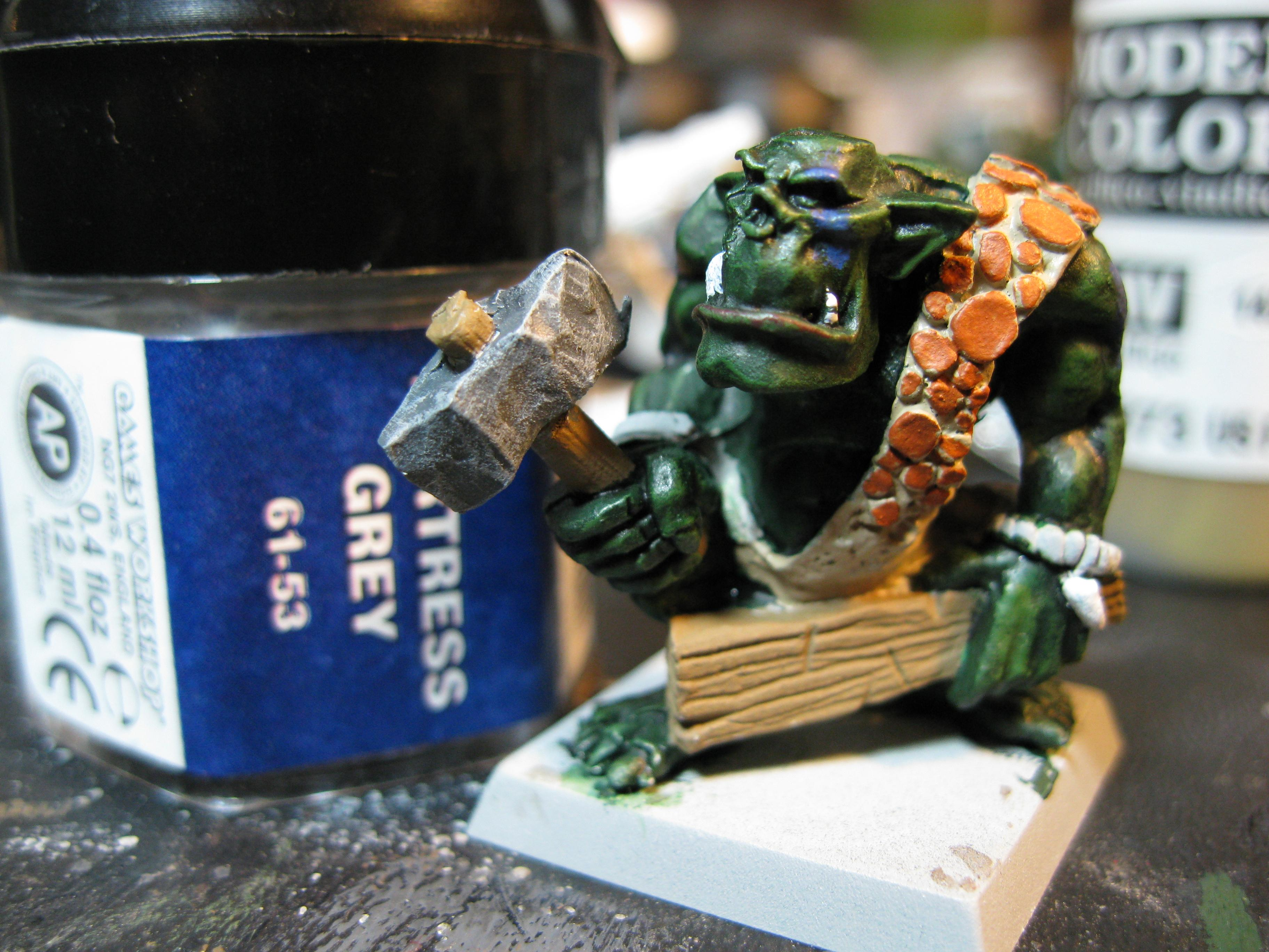 How To Paint a Savage Orc Part 13