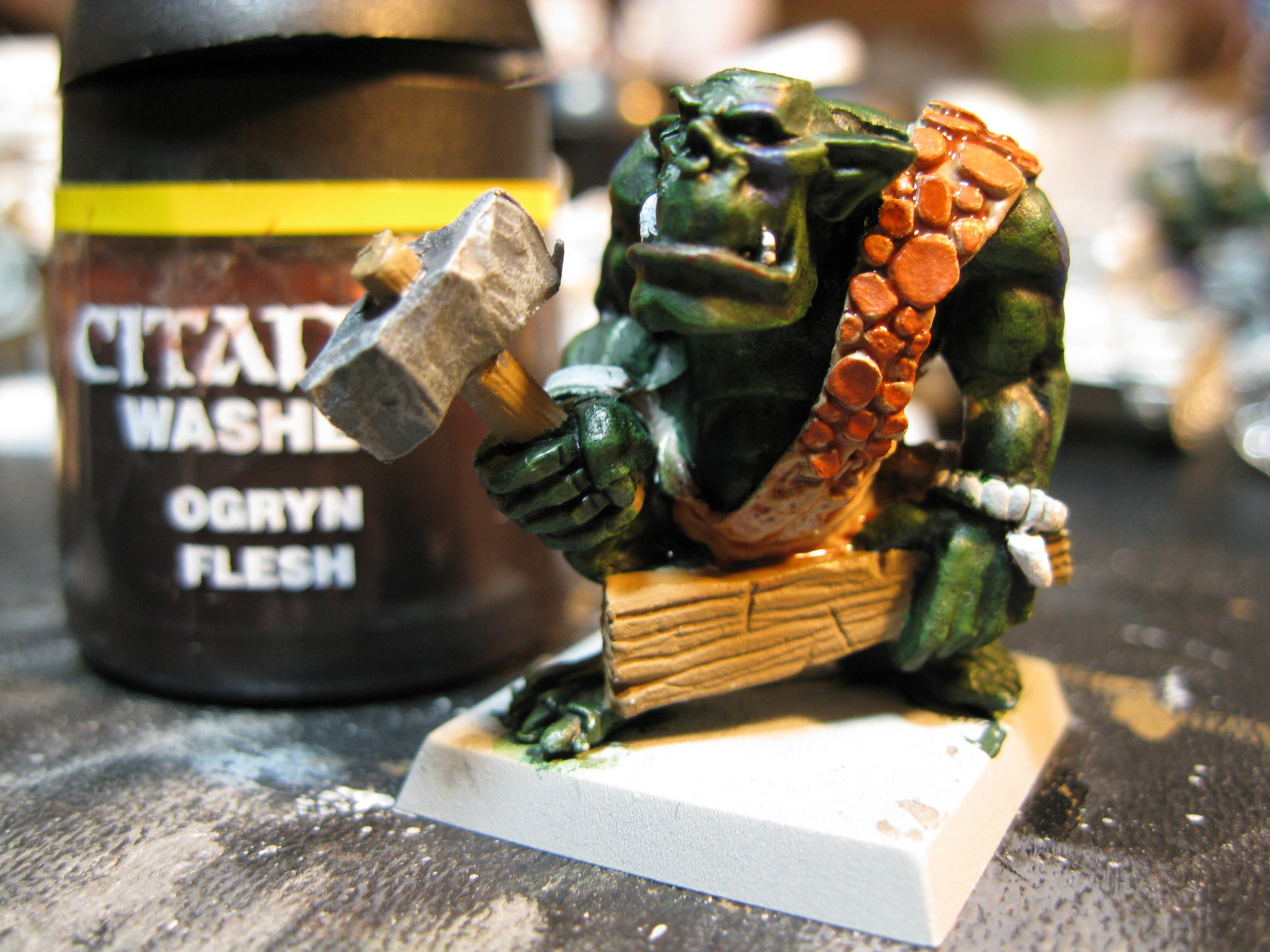 How To Paint a Savage Orc Part 14