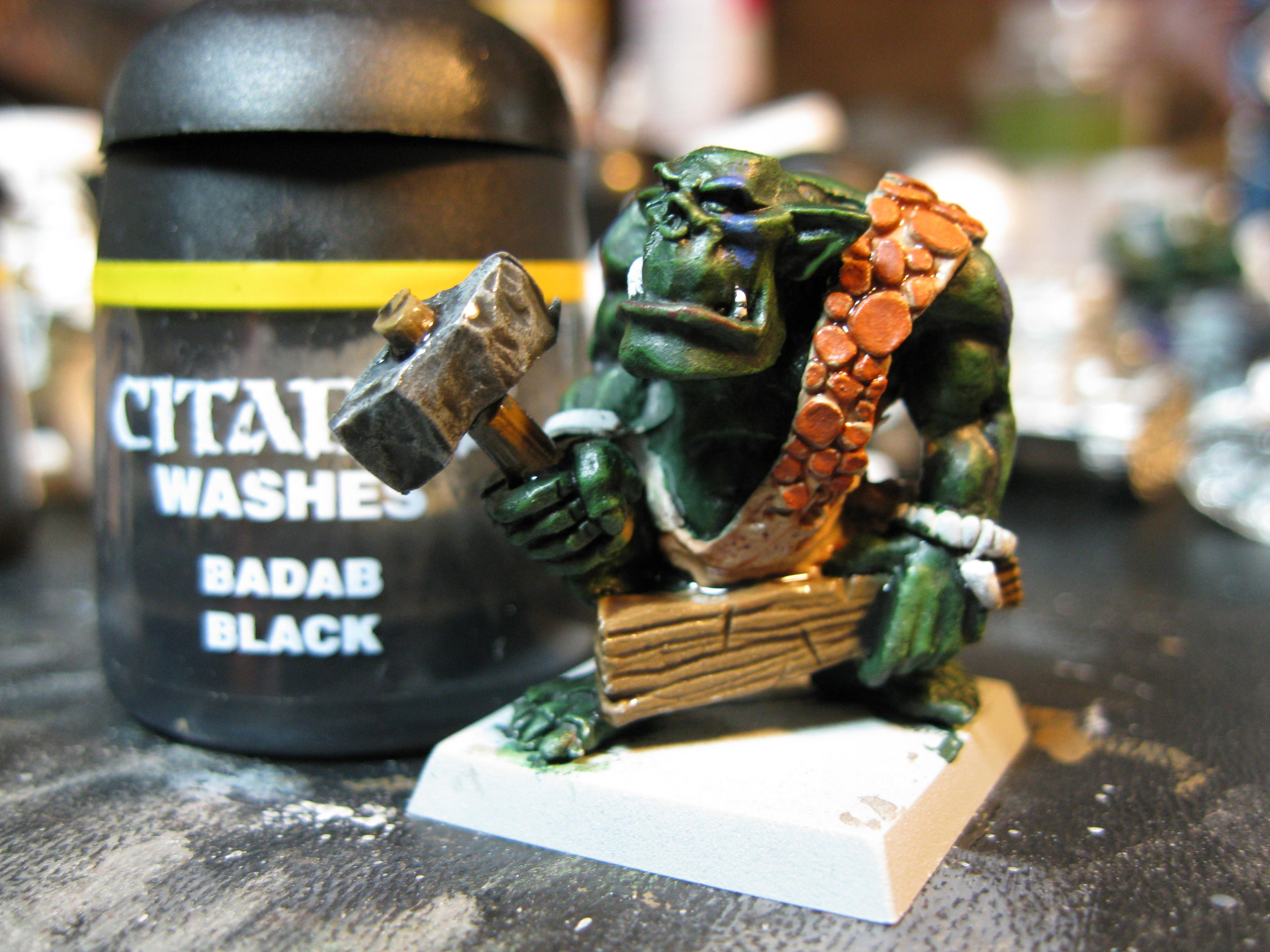 Orcs, Savage Orc, How To Paint a Savage Orc Part 15