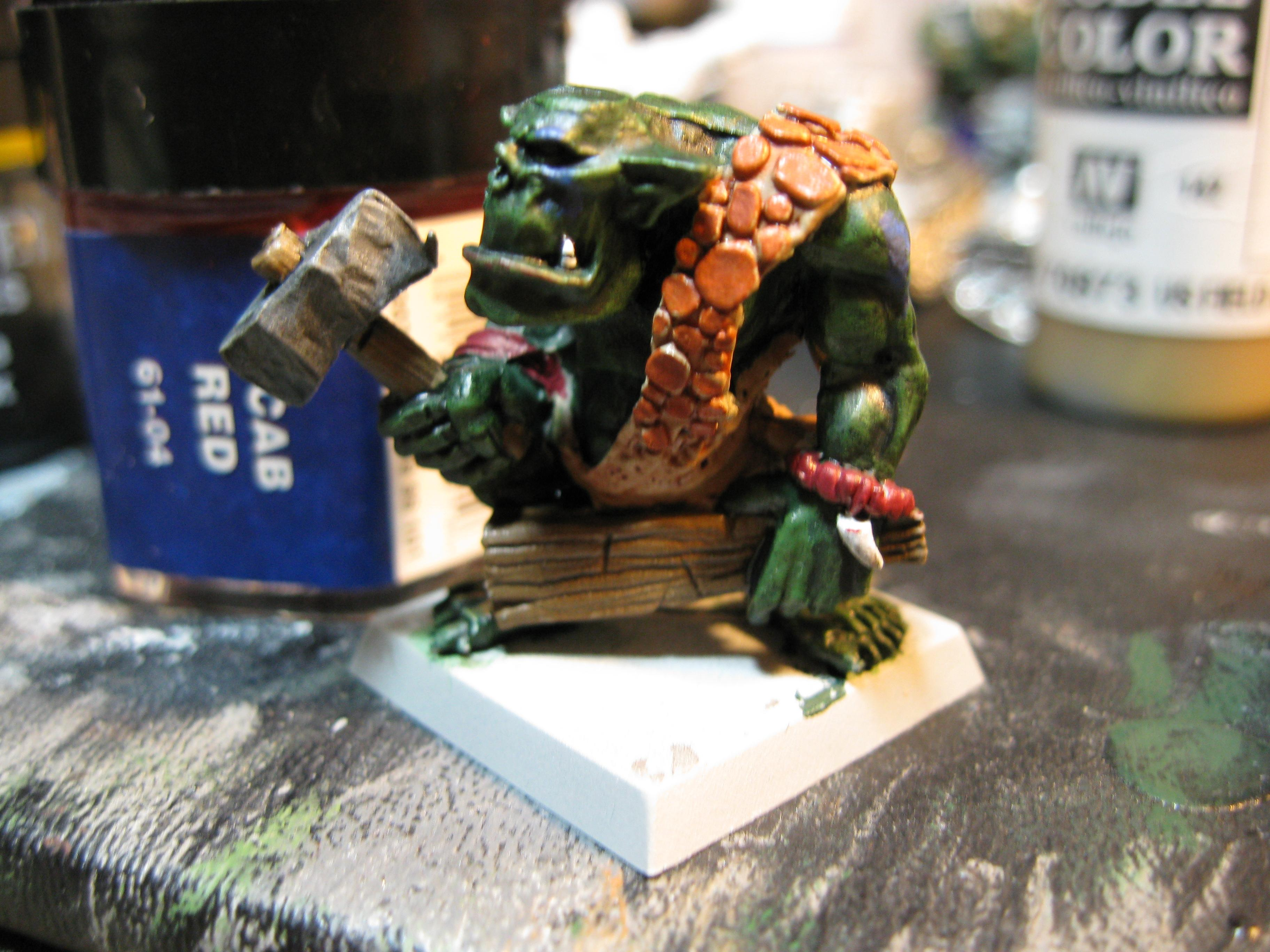 How To Paint a Savage Orc Part 16