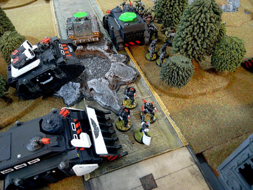 Adeptus Arbites, Arbitor, Battle Report, Chaos, Nurgle