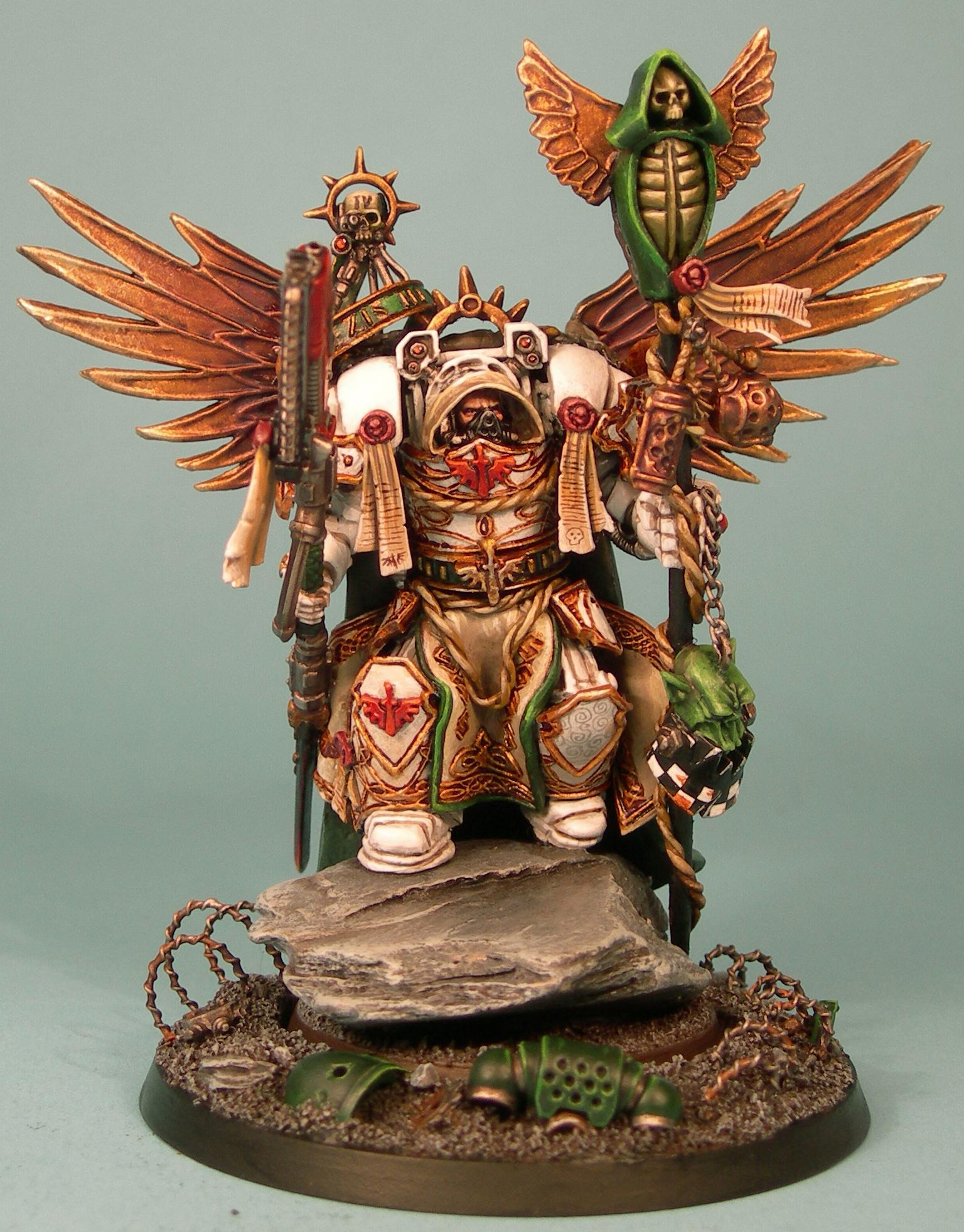Belial, Dark Angels, Deathwing, Sculpting, Space Marines, Terminator Armor