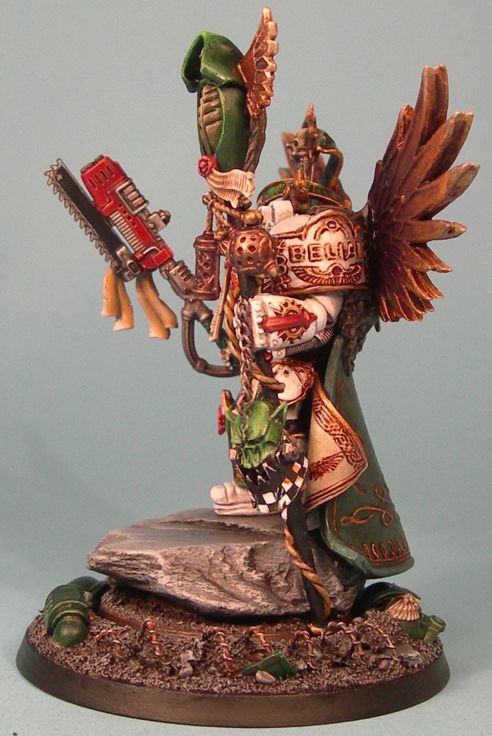 Belial, Conversion, Dark Angels, Pro Painted, Space Marines, Terminator Armor