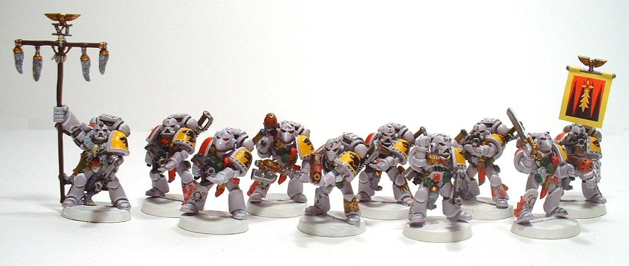 Grey Hunters, Space Marines, Space Wolves, Warhammer 40,000