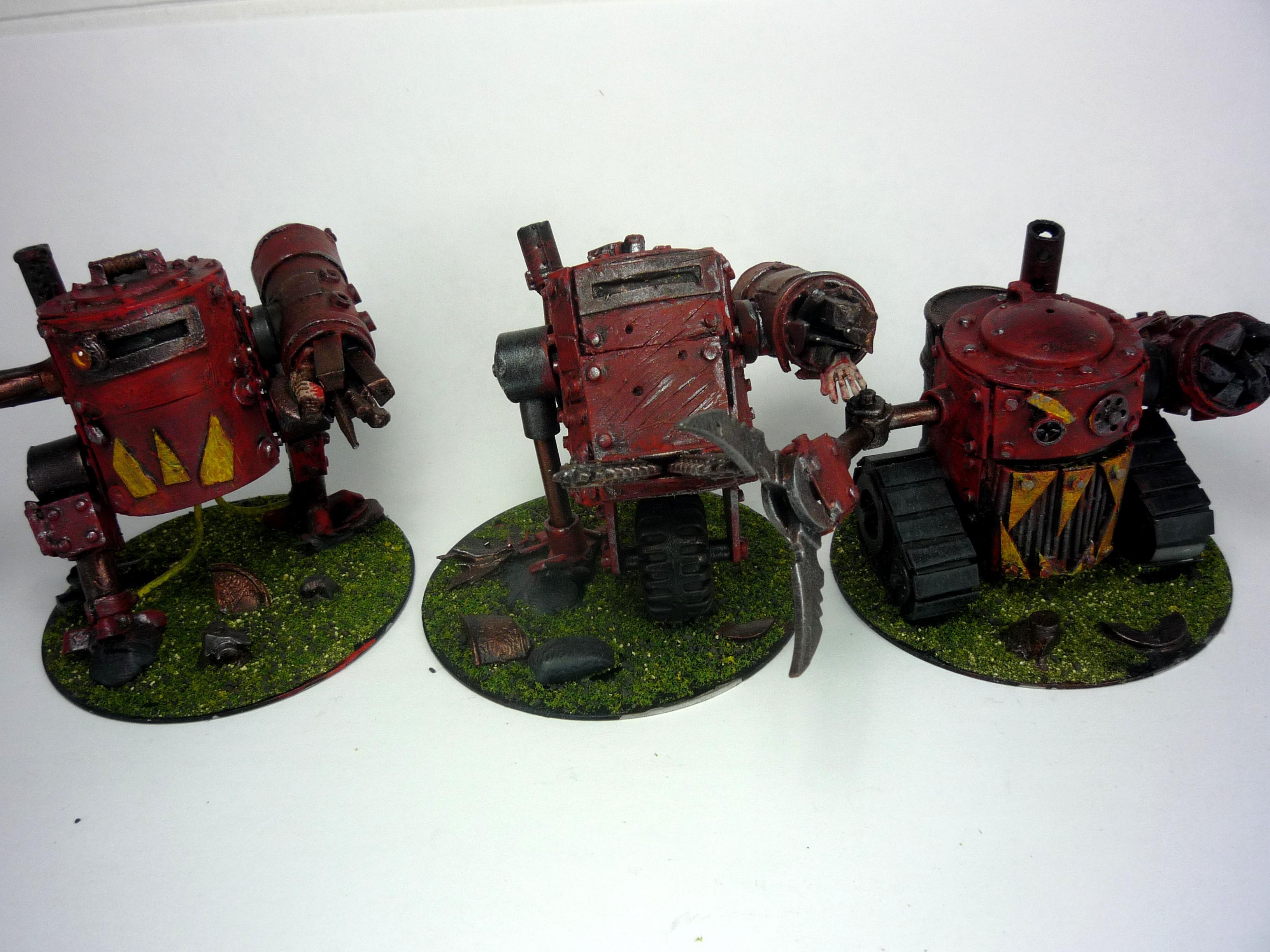 Dreadnought, Grotzooka, Killa Kan, Orks