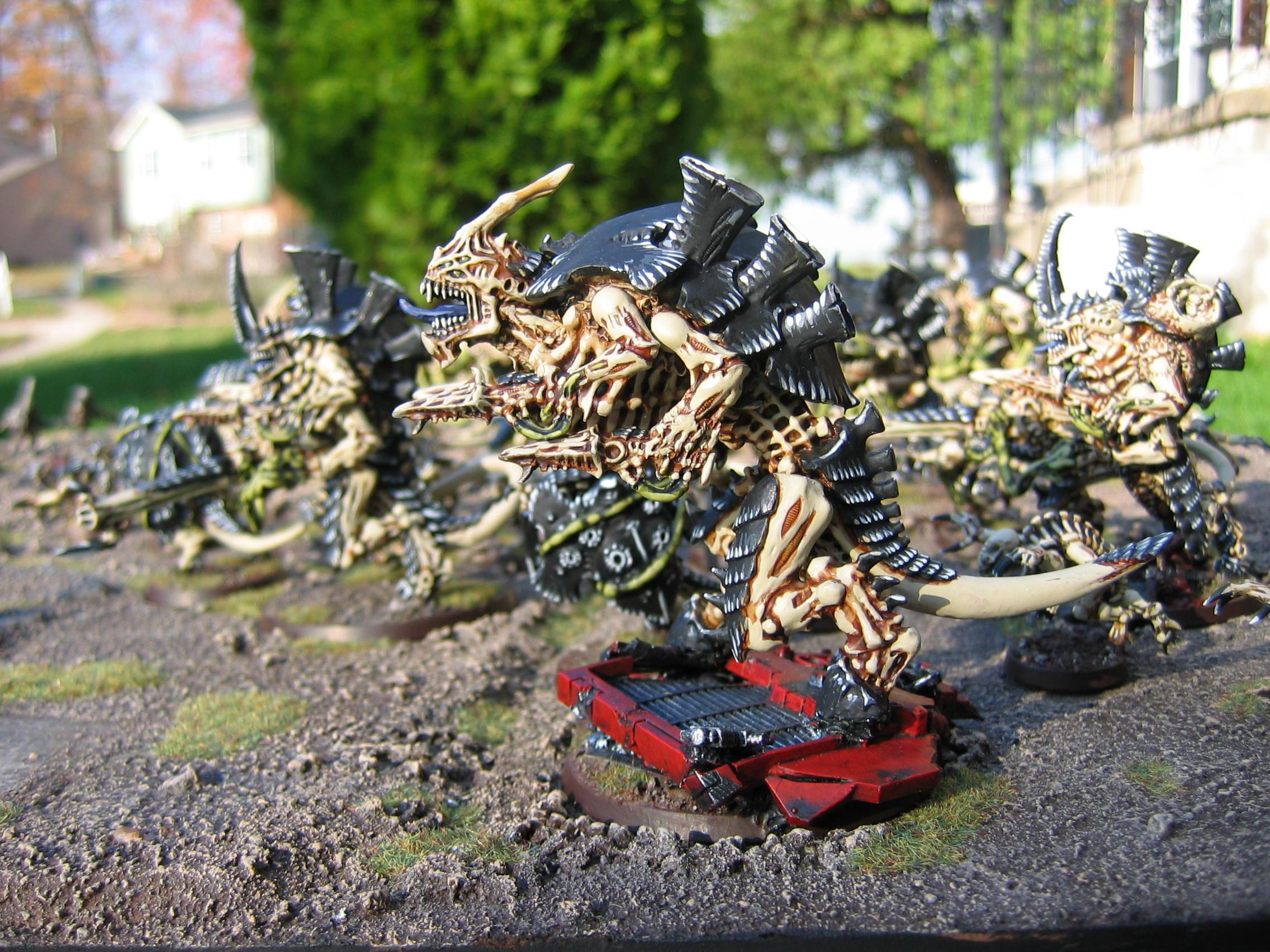 Bleached Bone Tyranids, Carnifex, Dakkafex, Tyranids