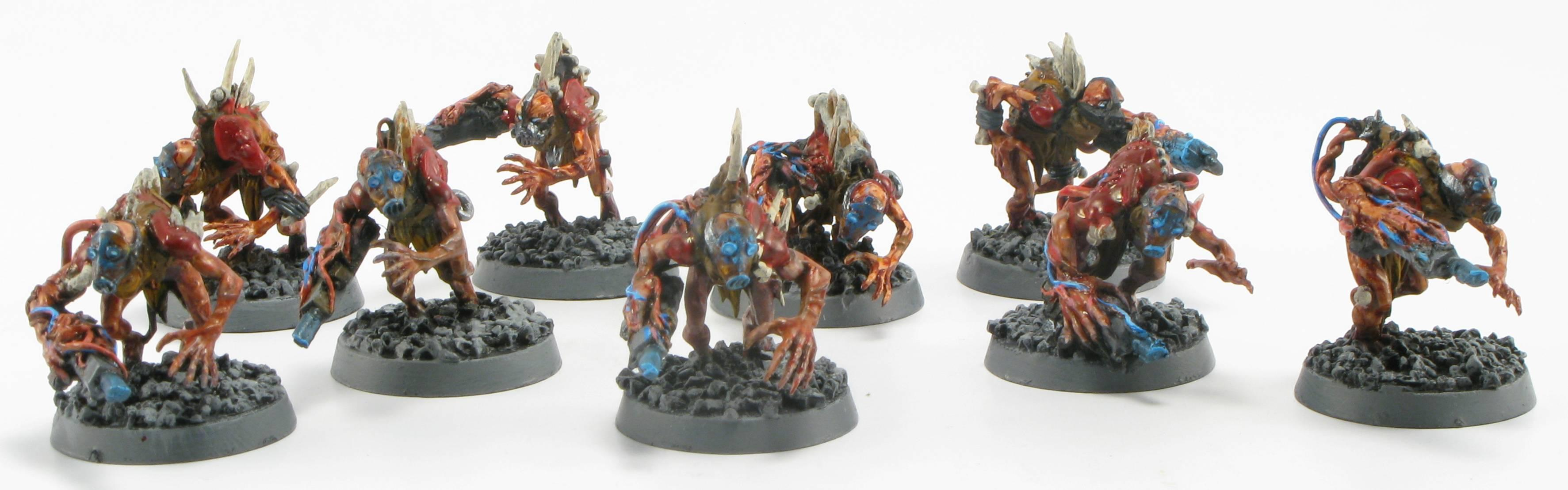 Chaos Daemons, Conversion, Ghouls, Horrors, Pig Iron