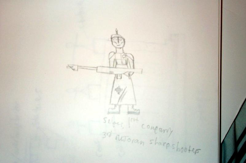 Concept, Imperial Guard, Snipers