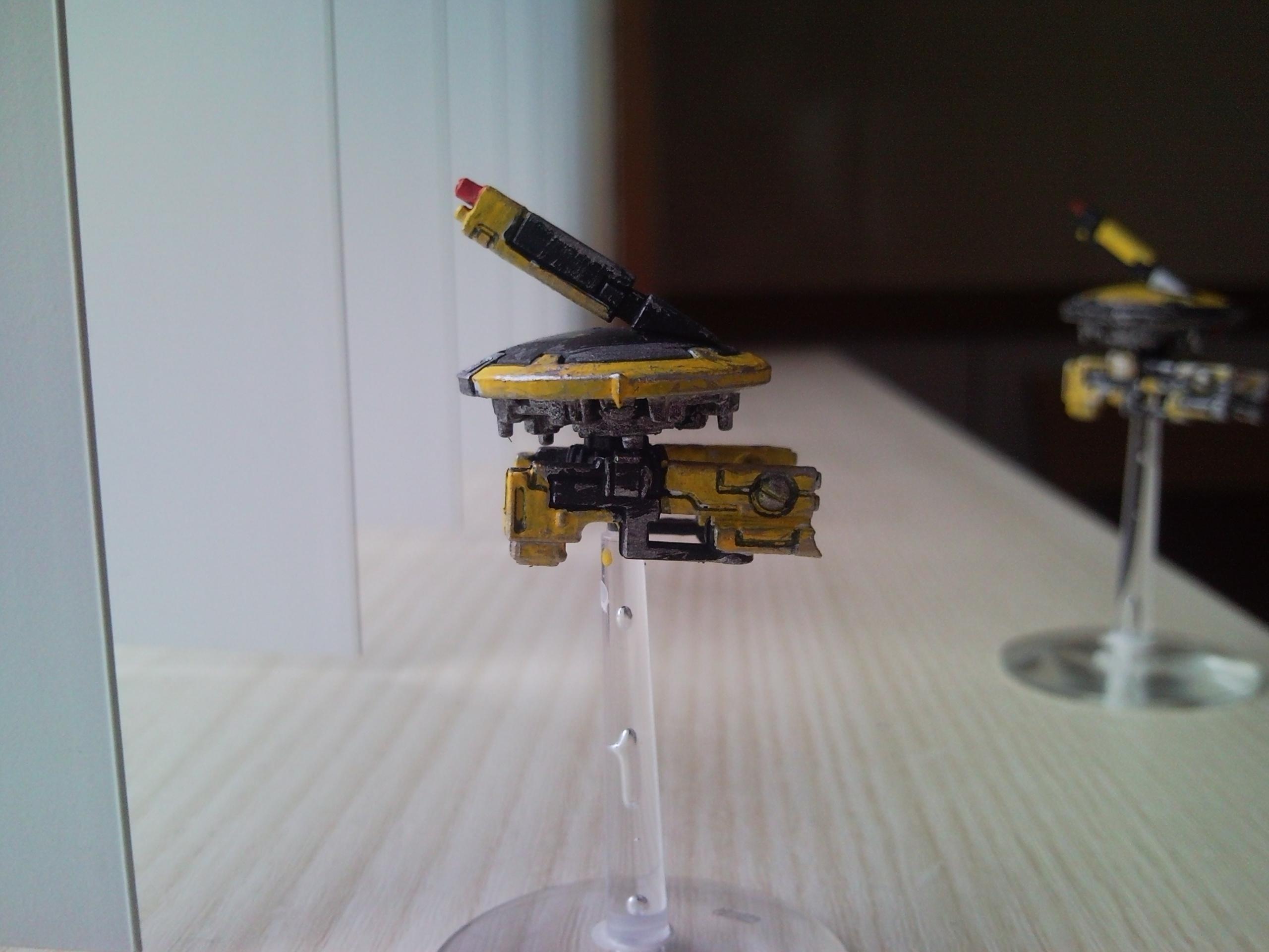 Drone, Tau, Side