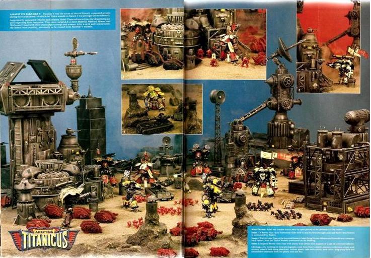 Adeptus Titanicus, Copyright Games Workshop, Epic, Retro Review, Titan, White Dwarf