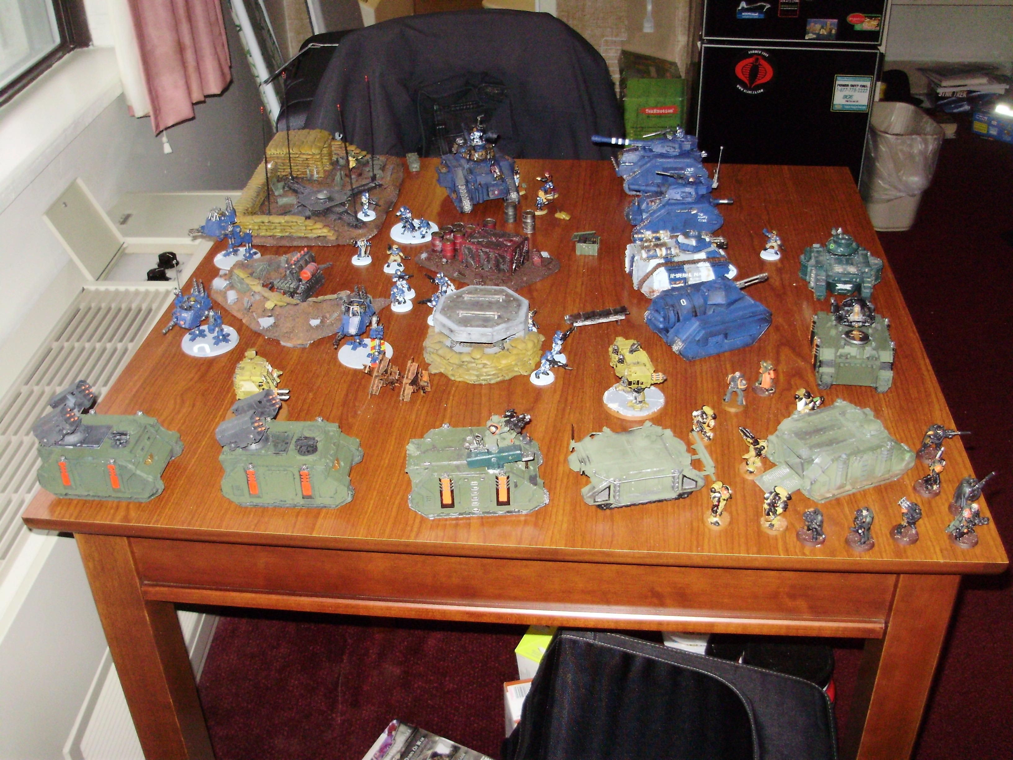 Battle Report, Imperial Guard, Space Marines
