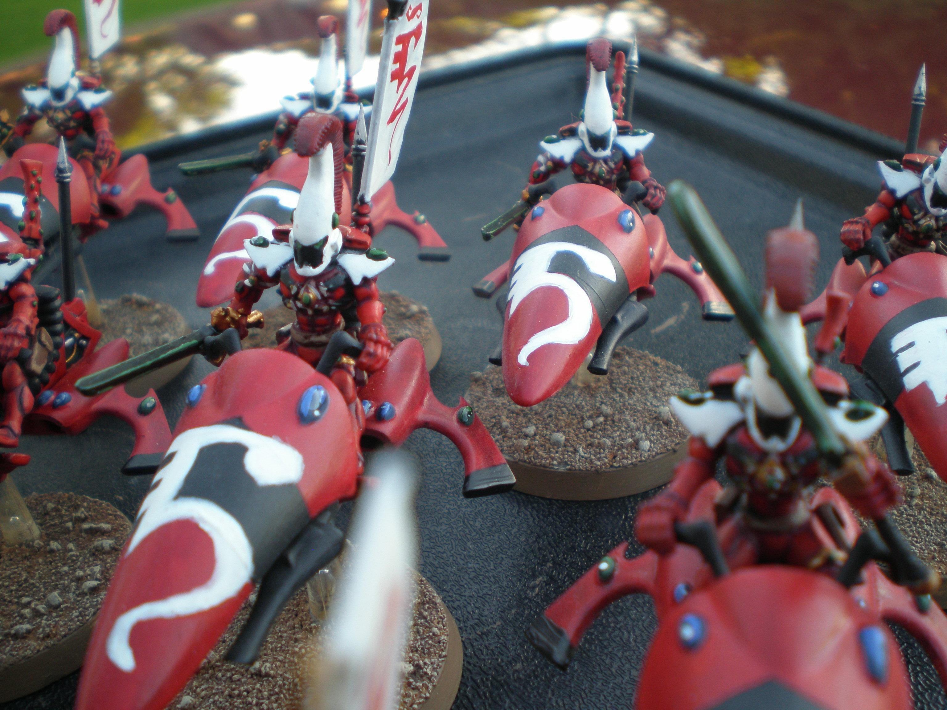 Eldar, Jet Bikes, Warhammer 40,000