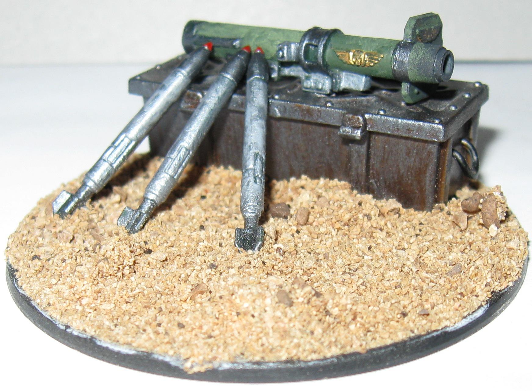 Imperial Guard, Missile Launcher, Objective Marker, Rpg