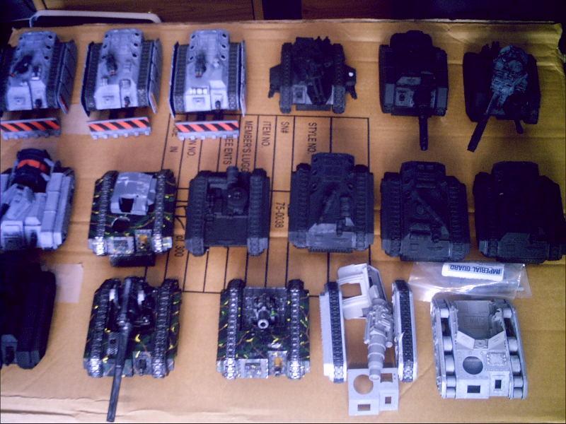 Imperial Guard, Tank, Work In Progress