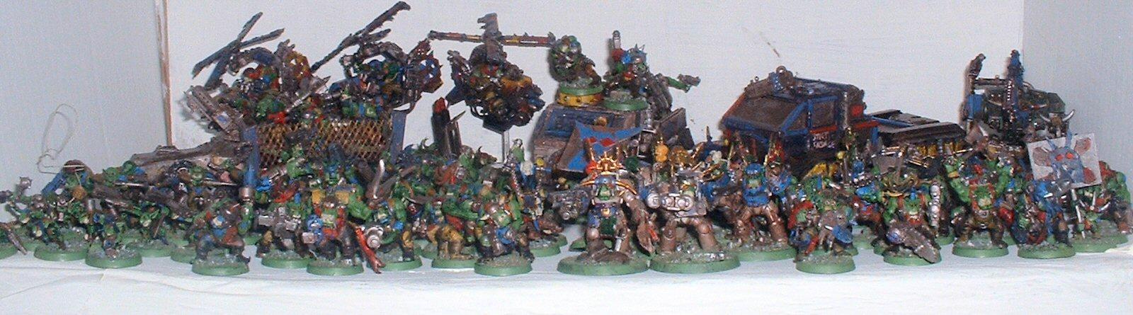 Deth Skull, Ork Army, Orks