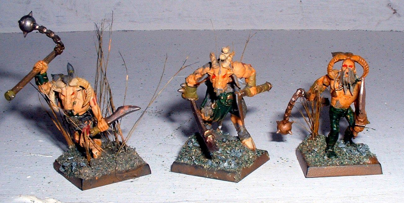 Beastmen, Chaos, Gor, Mordheim, Nurgle