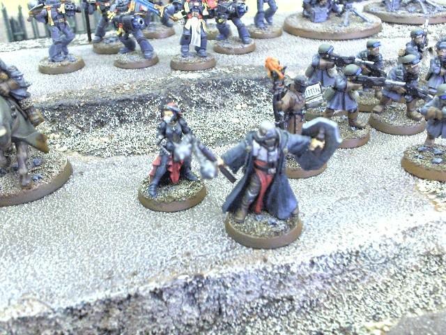 23rd - Inquisitor, 2 Mystics