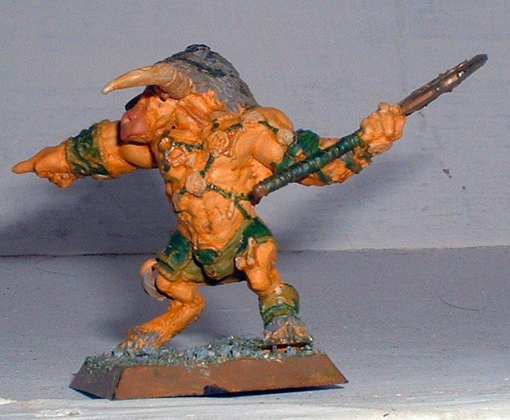 Beastmen, Confrontation, Kelt, Minotaur, Rackham, Sessairs