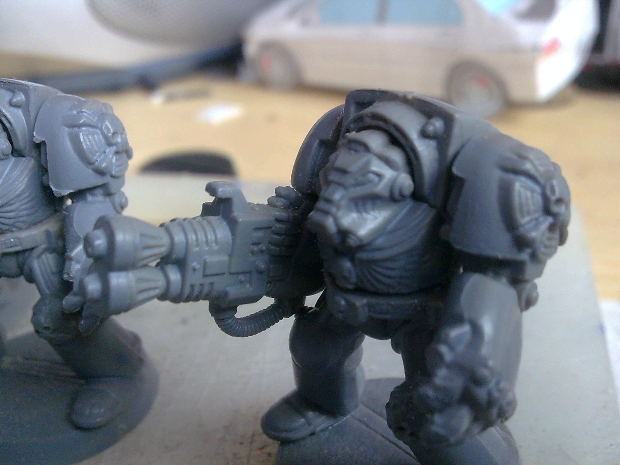 2nd Edition, Space Marines, Terminator Armor