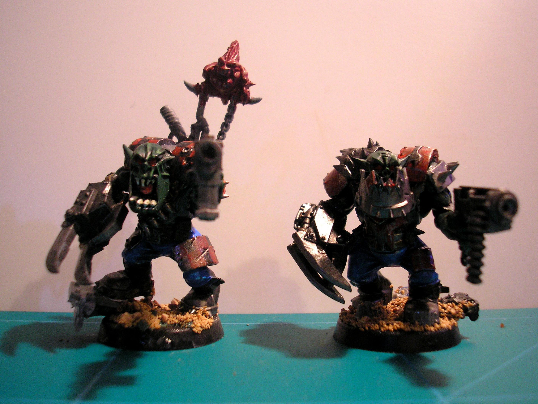 Nob, Orks, Power Klaw, Waaagh!
