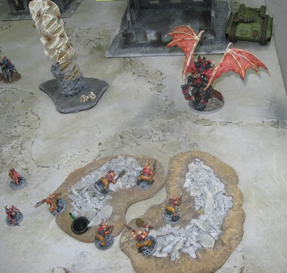 Battle Report, Daemons, Imperial Guard, Vostroyans