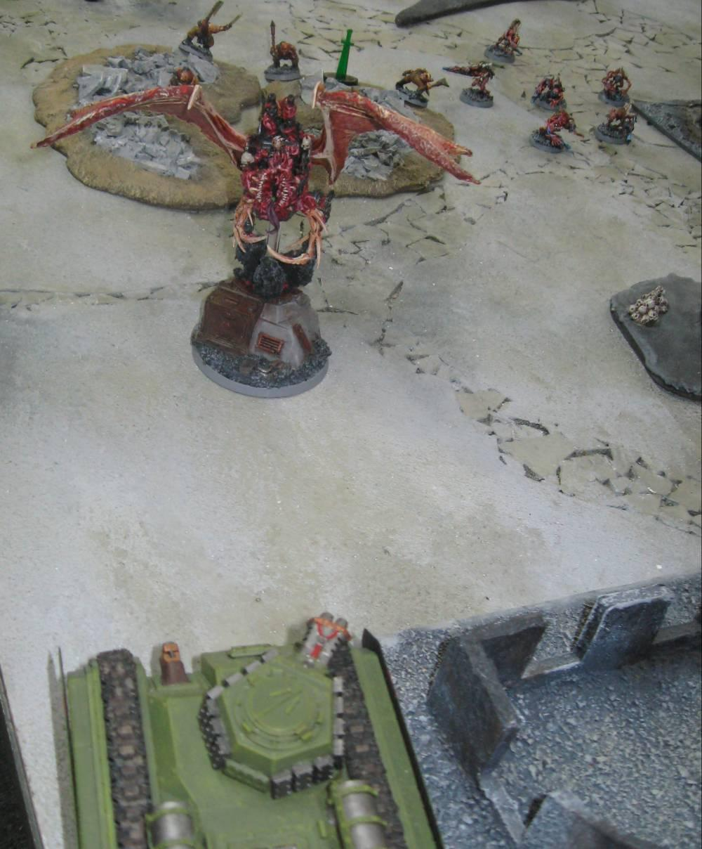 Battle Report, Daemons, Imperial Guard, Vostroyans
