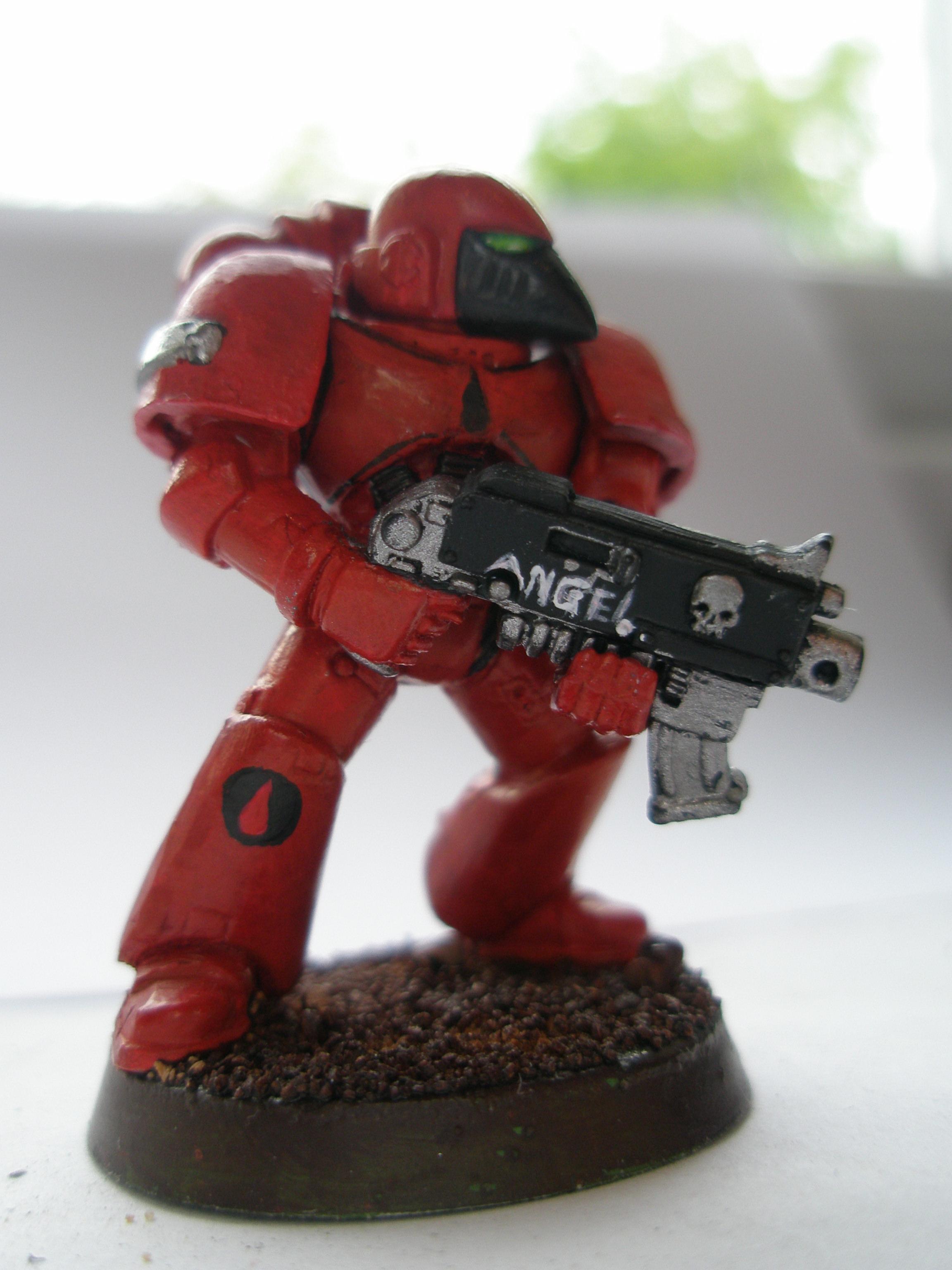 40 000, Angel, Blood, Space, Space Marines, Warhammer 40,000