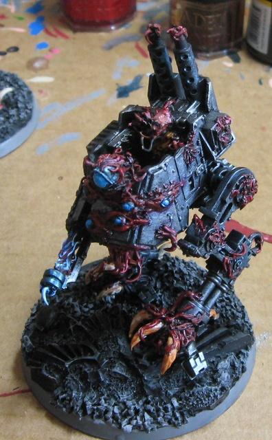 Conversion, Daemons, Imperial Guard, Sentinel