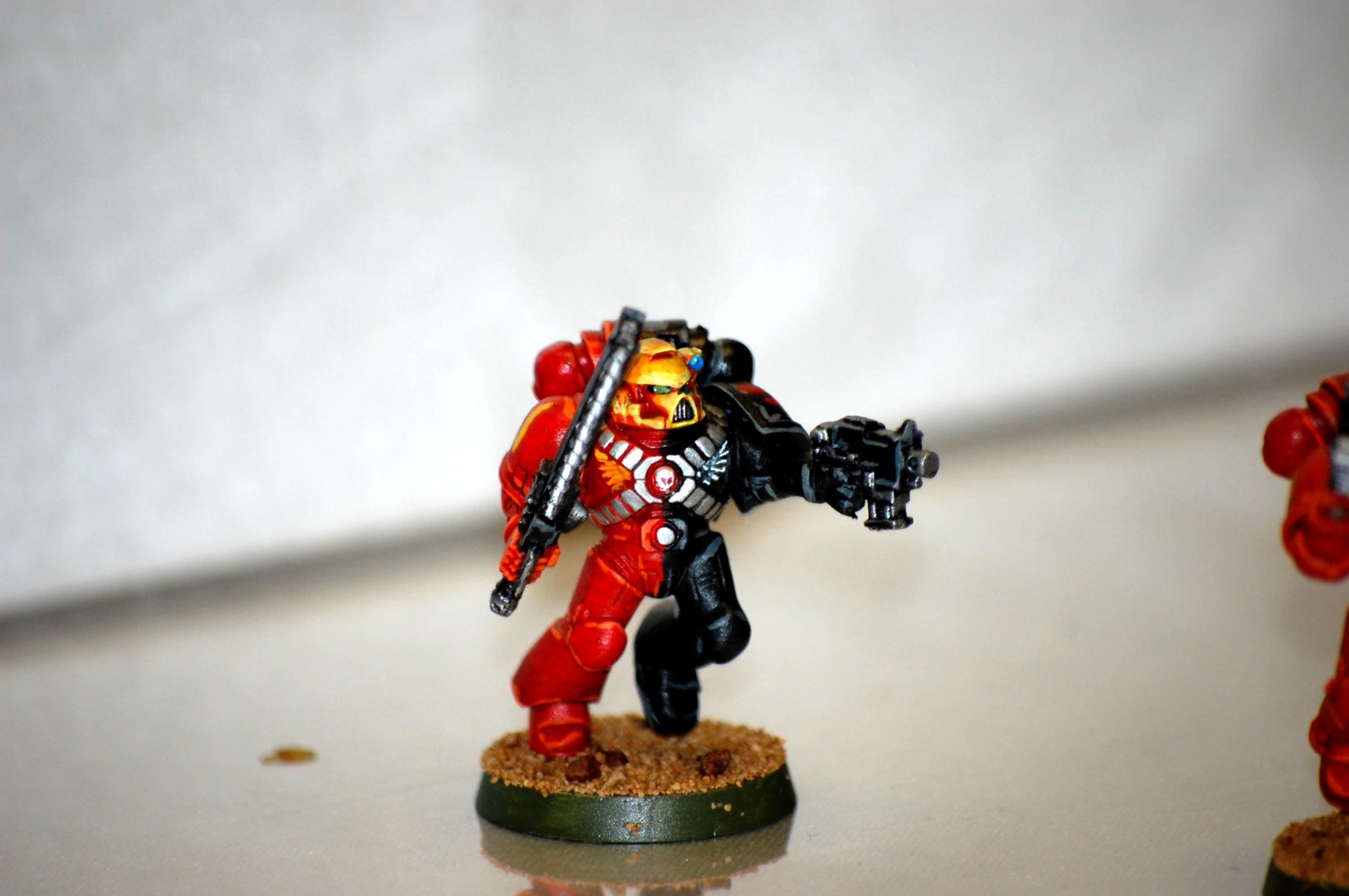 Angels Sanguine, Space Marines