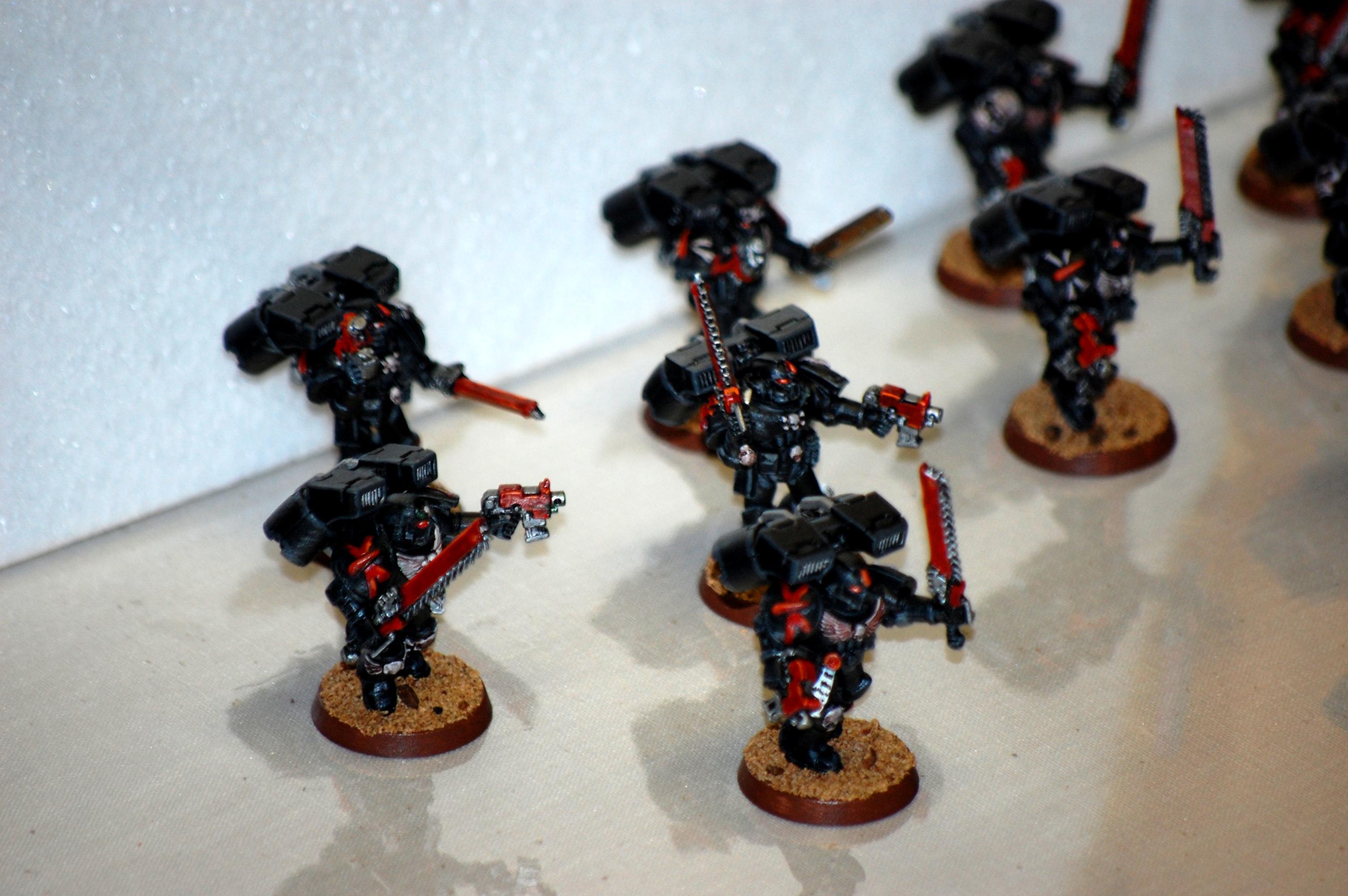 Angels Sanguine, Space Marines