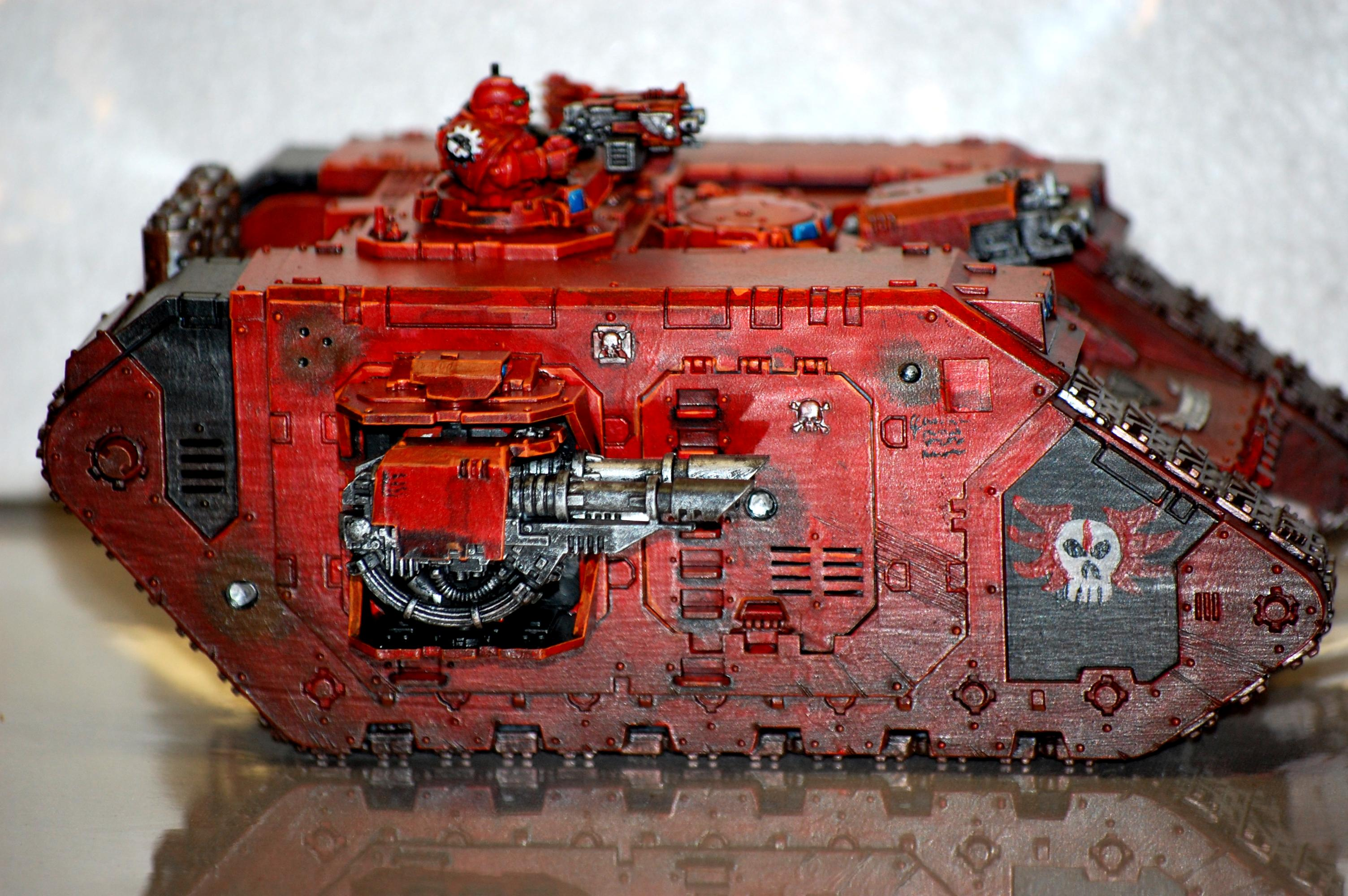 Angels Sanguine, Land Raider, Space Marines