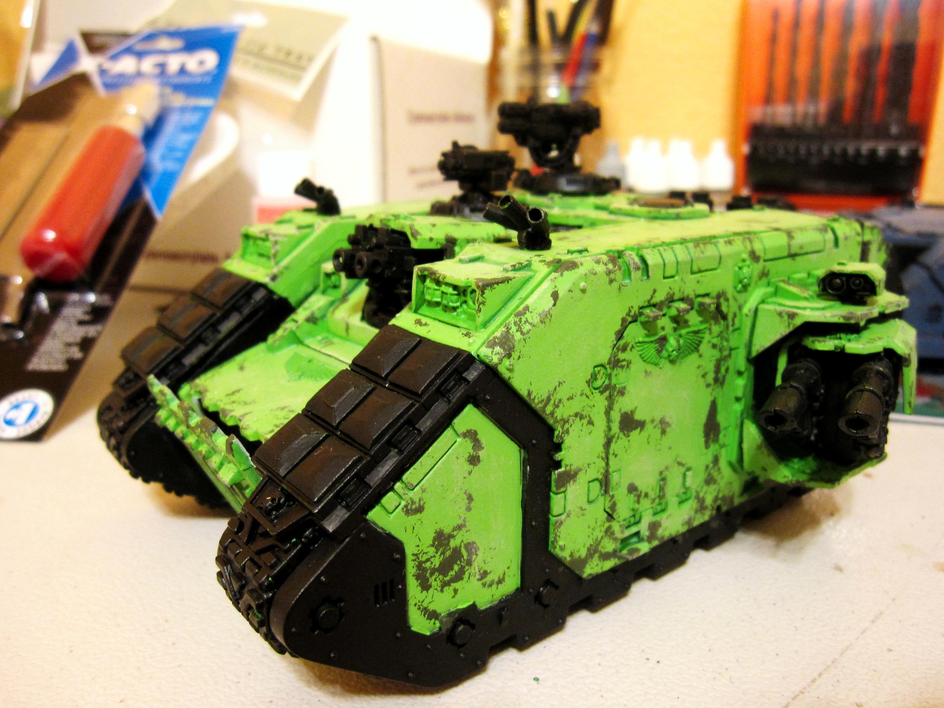 Badab War, Land Raider, Space Marines, Warhammer 40,000, Work In Progress