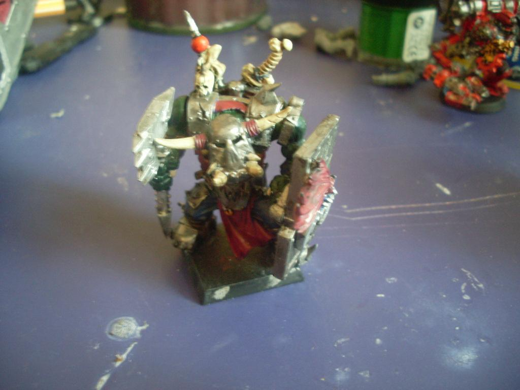 Big Boss, Conversion, Orcs, Orks, Warboss