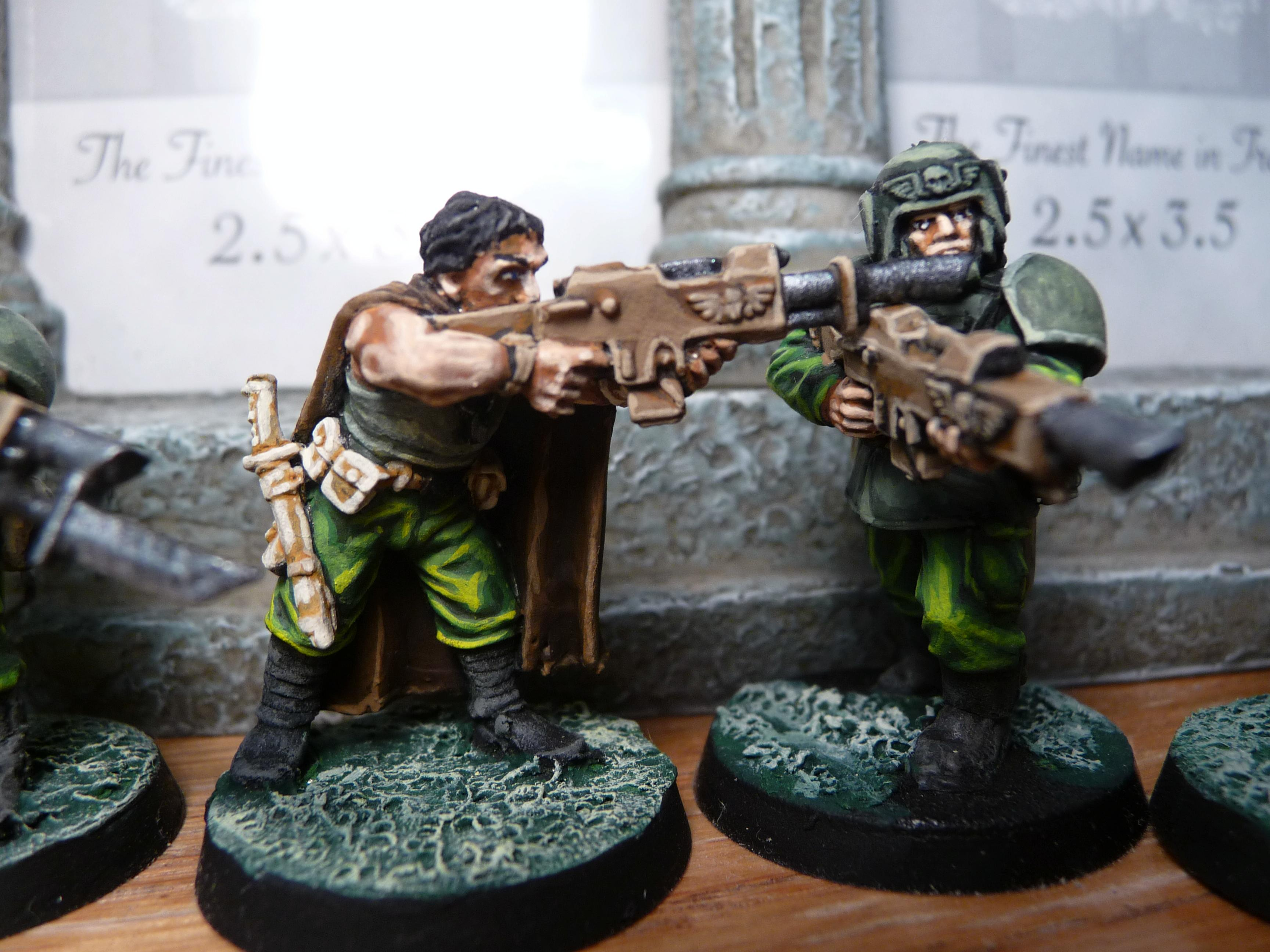Cadians, Imperial Guard, Tanith, Warhammer 40,000