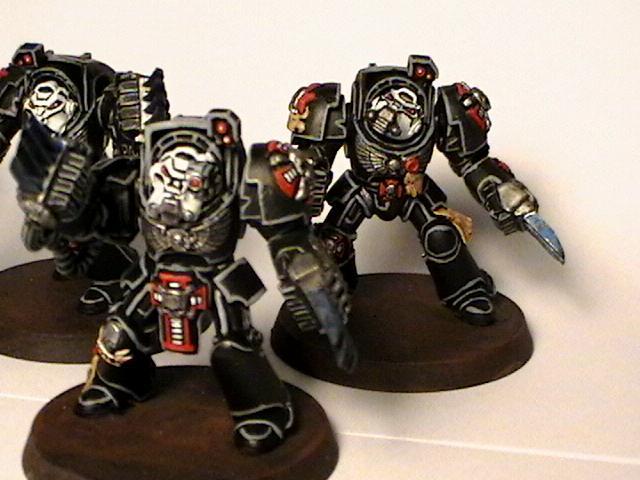 Assault, Black Templars, Lightning Claw, Terminator Armor