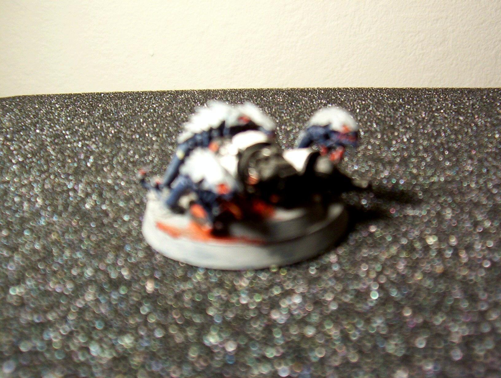 Blurred Photo, Ripper Swarm, Tyranids