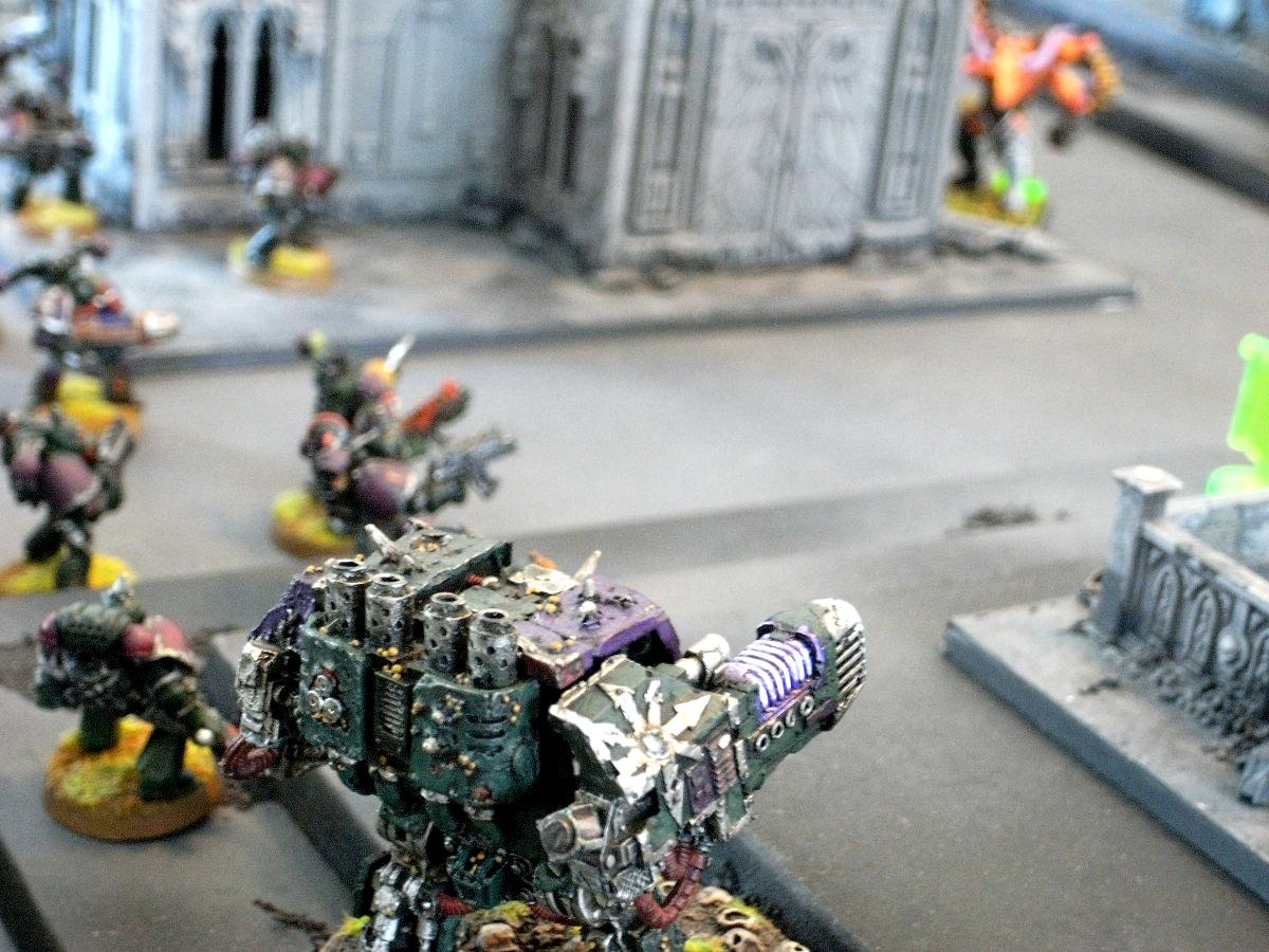 Battle Report, Chaos Space Marines, Daemons, Nurgle, Slaanesh