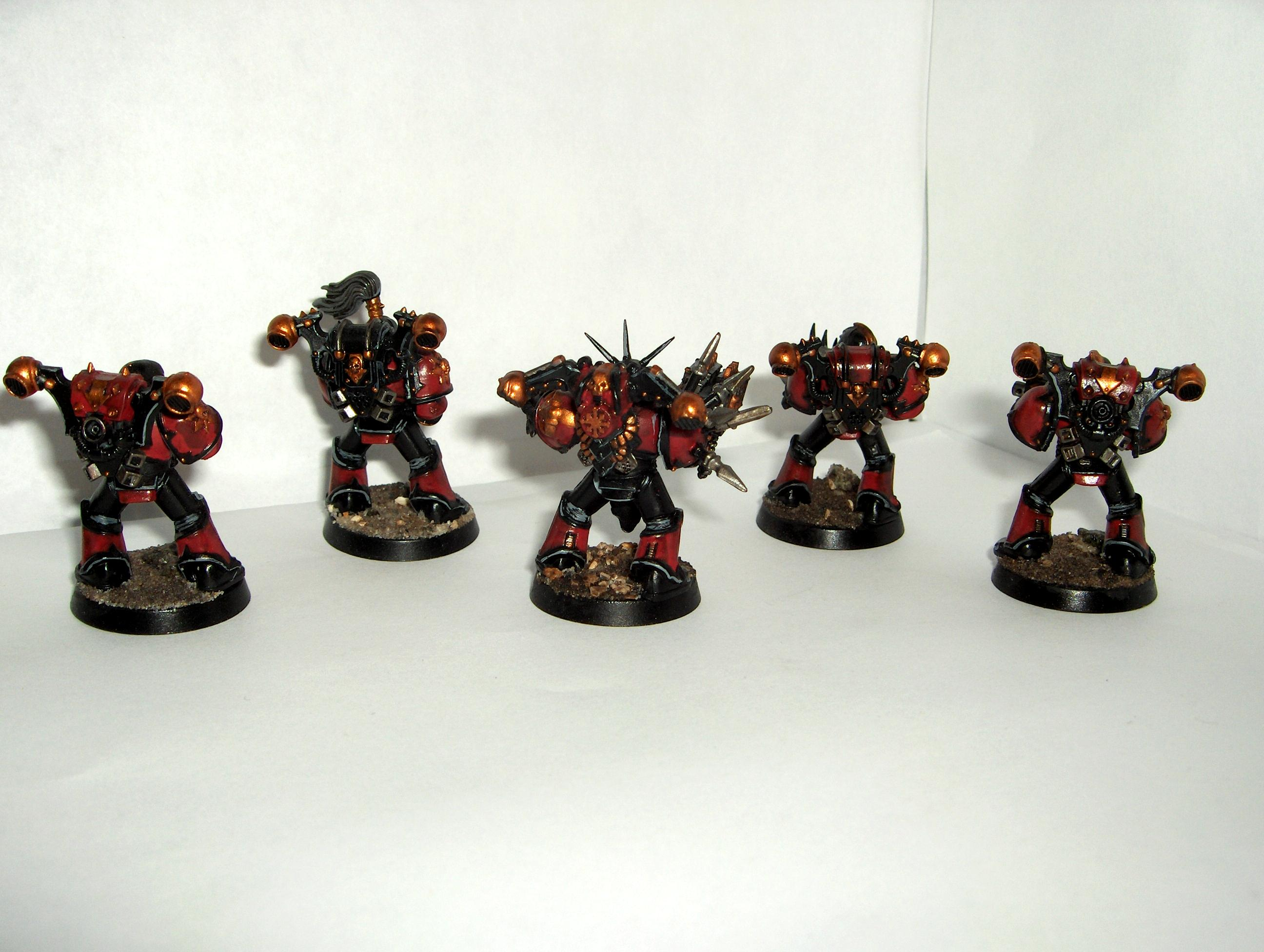 Chaos Space Marines, Red Corsairs, Red Corsairs Huron