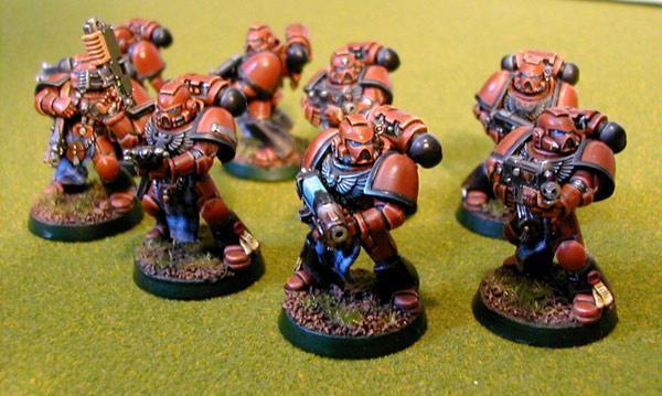 Mastiff, Ravenborn, Space, Space Marines, Squad, Tactical