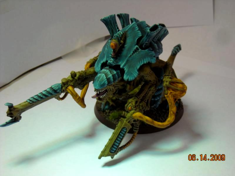 Carnifex, Monstrous Creature, Tyranids, Warhammer 40,000