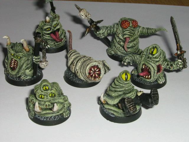Greenstuff, Nurgle, Scratch Build, Warhammer 40,000