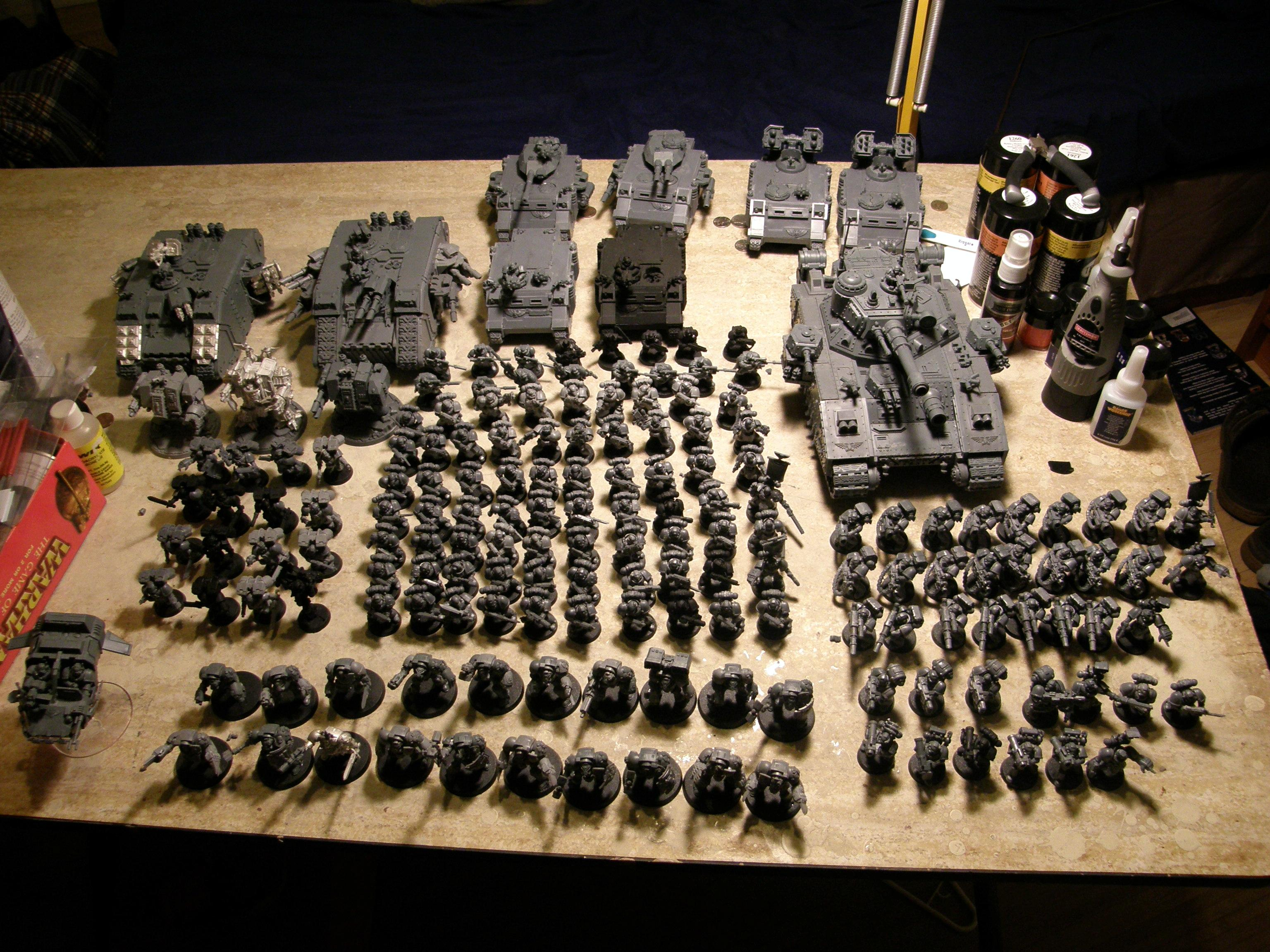 1st Army, Army, Legion Of The Damned, Space Marines, Work In Progress