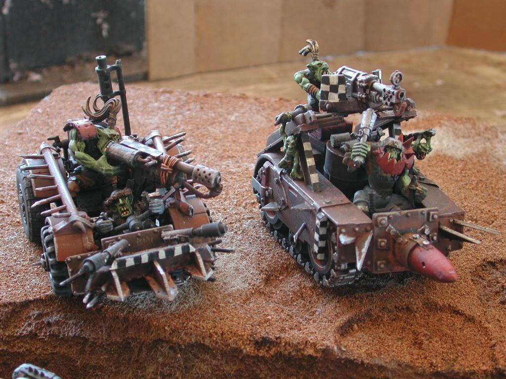 Buggy, Conversion, Orks, Scratch Build