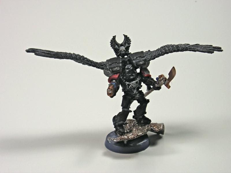 Chaplain with Jump Pack
