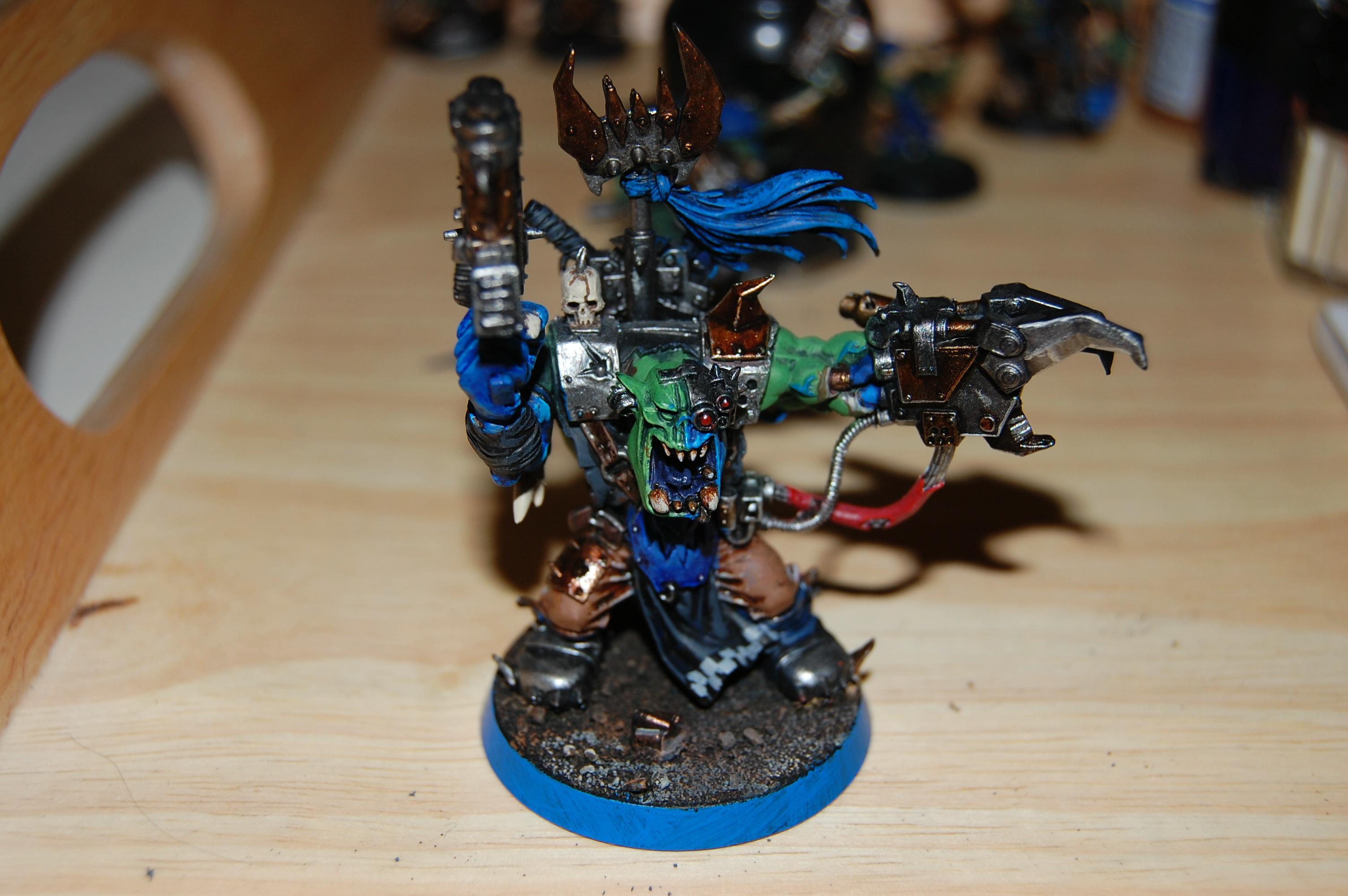 Deathskulls, Orks, Warboss, Warhammer 40,000
