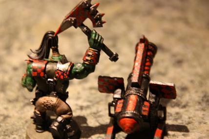 Kustom Custom Kannon, Orks