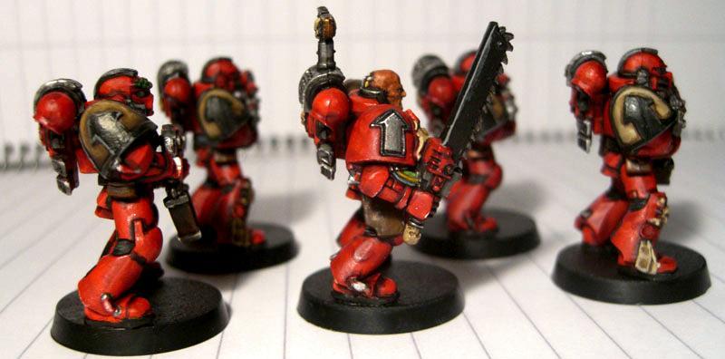 Blood Ravens, Space Marines