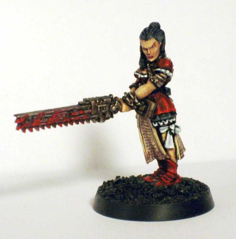 Eviscerator, Female, Priest, Priestess, Sisters Of Battle, Witch Hunters