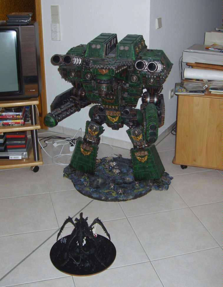 Apocalypse, Huge, Scratch Build, Titan, Warlord